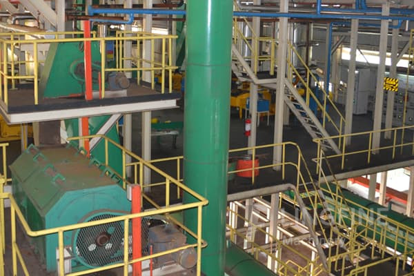 manufacture palm oil refinery plant/palm oil fractionation